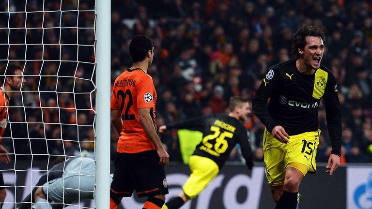 Mats Hummels: Scored Dortmund's second goal on Wednesday night