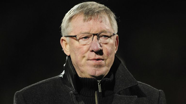 Sir Alex Ferguson: Feels his side are in the 'right shape' for the final push