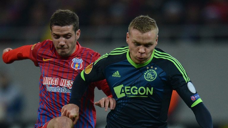 Battle: Steaua ensured the clash went all the way to penalties