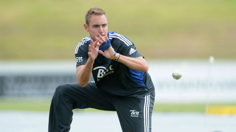 Stuart Broad: Looking forward to brief stint with Nottinghamshire