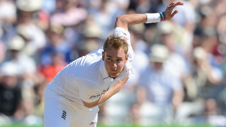 Stuart Broad: complements James Anderson very well, says Sir Richard