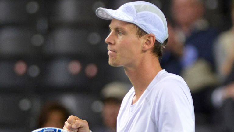 Tomas Berdych: Quarter-finals in Marseille