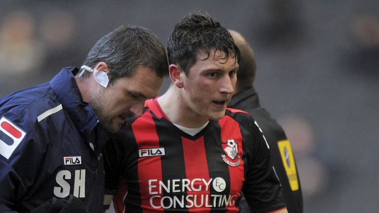 Tommy Elphick: Escaped a serious injury