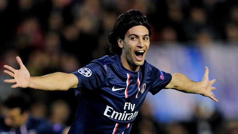 Javier Pastore: Says Beckham has inspired belief PSG can beat Barca