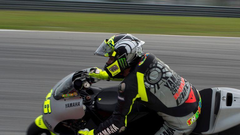 Valentino Rossi: Fastest in Jerez testing