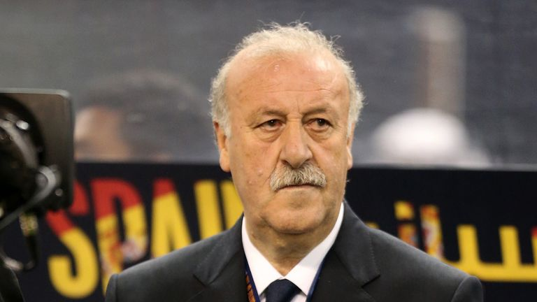 Vicente del Bosque: Happy as Spain boss and set to be offered a new two-year contract extension