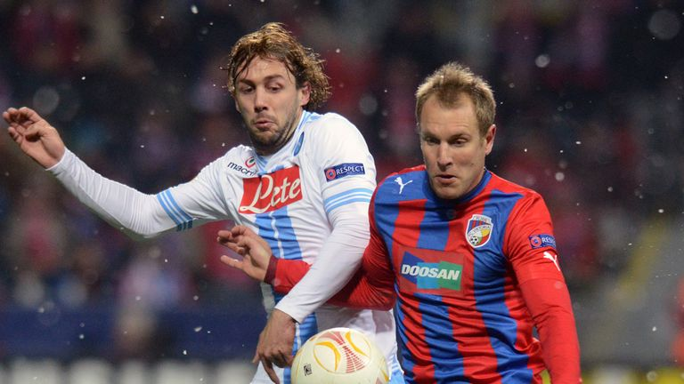 Viktoria Plzen dumped out Napoli