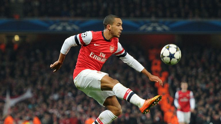 Theo Walcott: Focused on qualifying for the Champions League