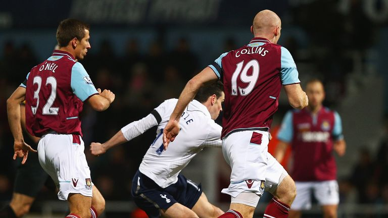 West Ham's return fixture with Tottenham passed off without incident
