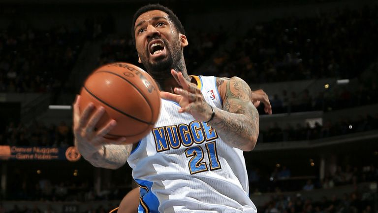 Wilson Chandler: Was the star of the show in the Nuggets' win over the Lakers