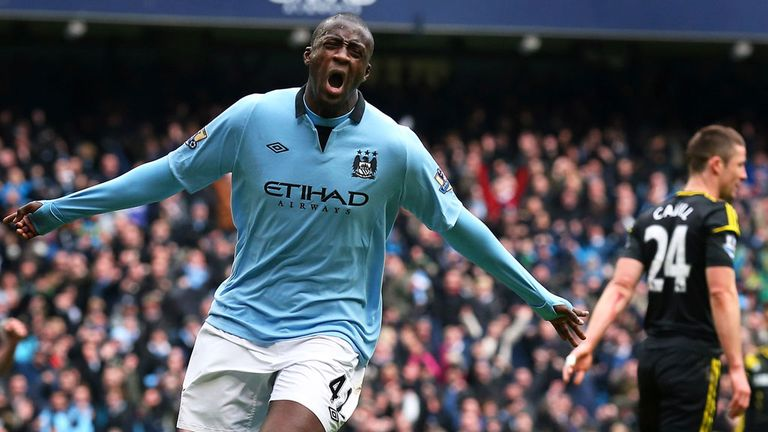 Yaya Toure: Says City is where he wants to be.
