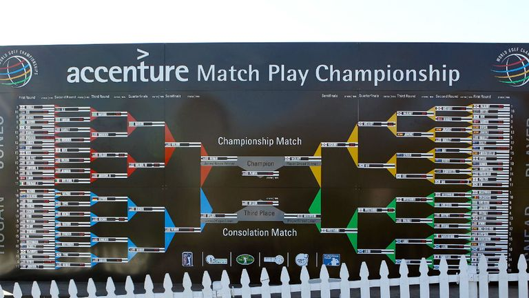 The WGC-Accenture Match Play Championship takes place at Dove Mountain in Arizona