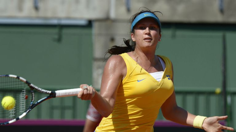 Sofia Arvidsson: will next face Marina Erakovic, who she defeated in last year's final in Memphis