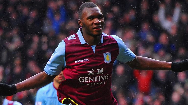 Christian Benteke: Linked with a move to Inter Milan