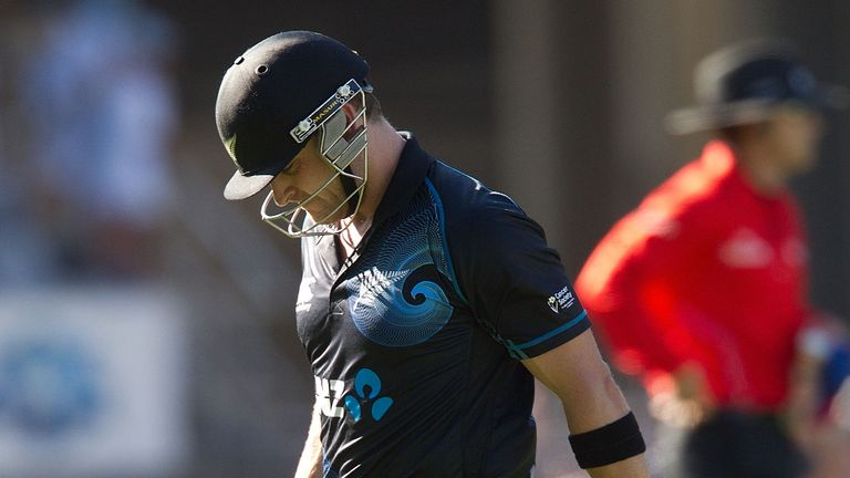 Brendon McCullum: Frustrating series defeat for Black Caps captain