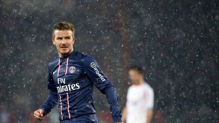 David Beckham: Set for full debut