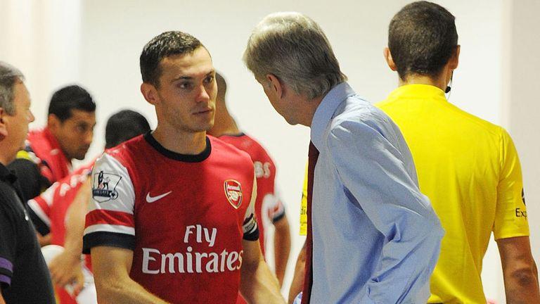 Arsene Wenger: Arsenal boss backed by captain Thomas Vermaelen