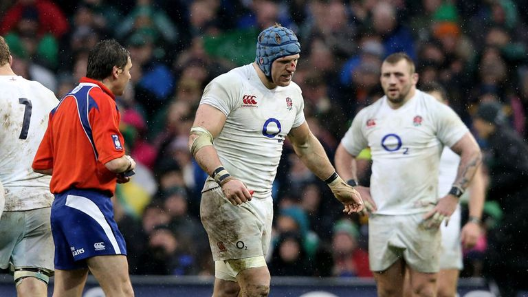 James Haskell sees yellow during Dublin clash