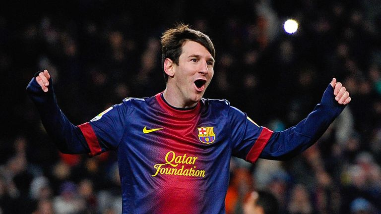 Lionel Messi: Scored twice as Barca saw off Rayo Vallecano