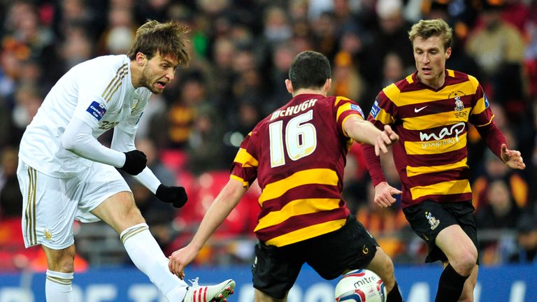 Michu: Scored his 19th goal of the season in win over Bradford