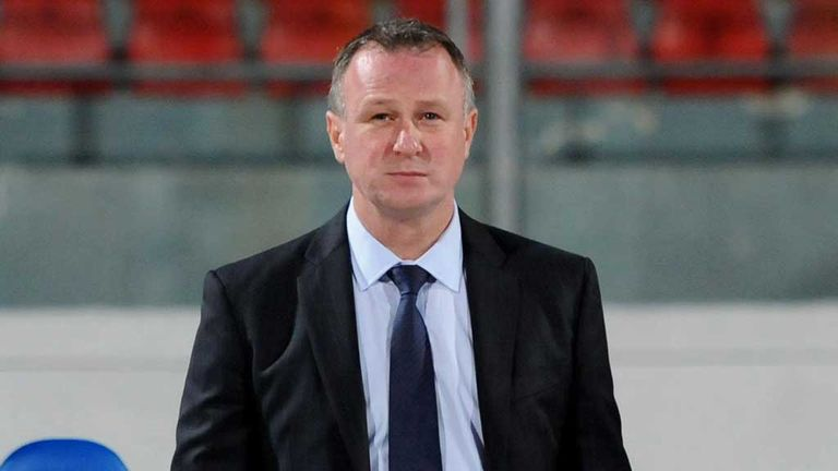 Michael O'Neill: Northern Ireland manager still without a win since taking charge