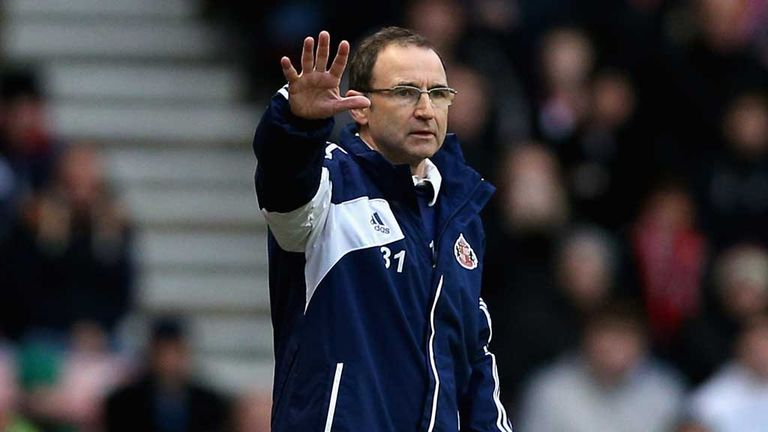 Martin O'Neill: Sacked by Sunderland last week