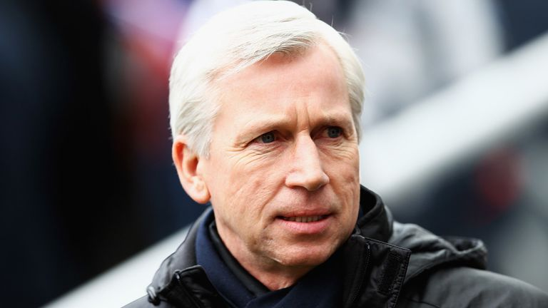 Alan Pardew: Says owner Mike Ashley will decide his fate