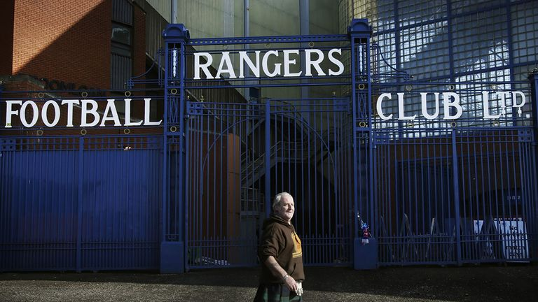Rangers Football Club: Went into liquidation in the summer in 2012