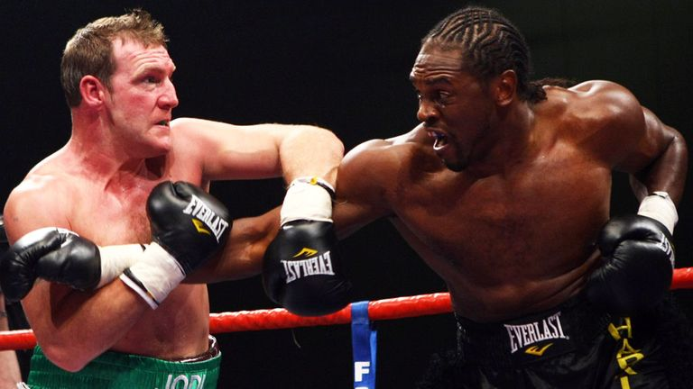 Martin Rogan and Audley Harrison could renew their rivalry in Prizefighter