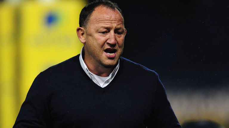 Steve Diamond: Celebrated his team's first away win of the season