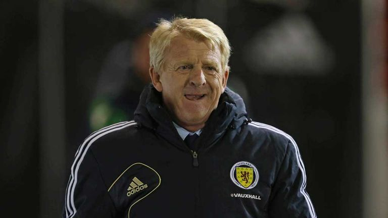 Gordon Strachan: New Scotland boss starts with a win over Estonia