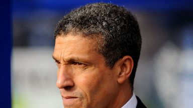 Chris Hughton: Admits second goal hurt his Norwich side