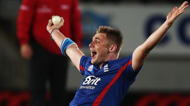 Luke Wright: England all-rounder hit seven fours and a six in his 44