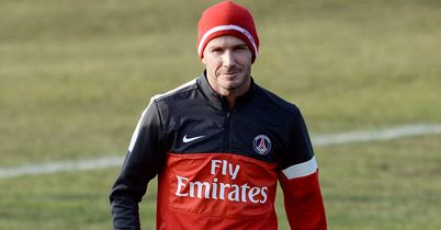 David Beckham: Could make his PSG debut on Sunday