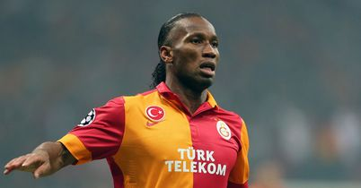 Didier Drogba: Made his European debut for Galatasaray but they could not win