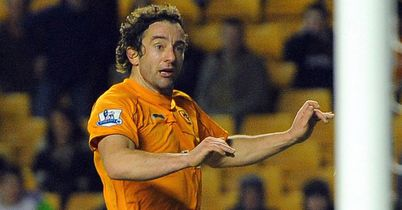 Stephen Hunt: Linked up with Blackpool on trial