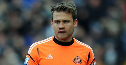 Mignolet: Happy at Sunderland