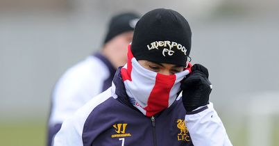 Luis Suarez: At training on Wednesday