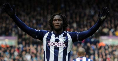 Romelu Lukaku: Bagged a brace for Albion on Saturday
