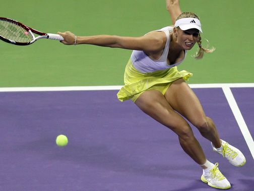 Caroline Wozniacki: 'I was happy with how things went today'