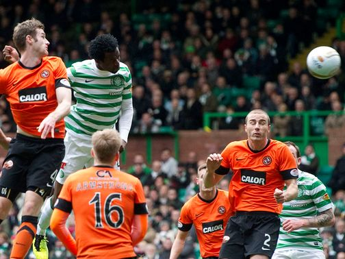 Efe Ambrose scores for Celtic.