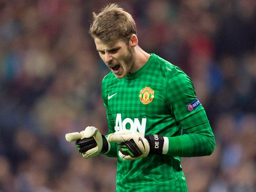 The job is only half done according to De Gea