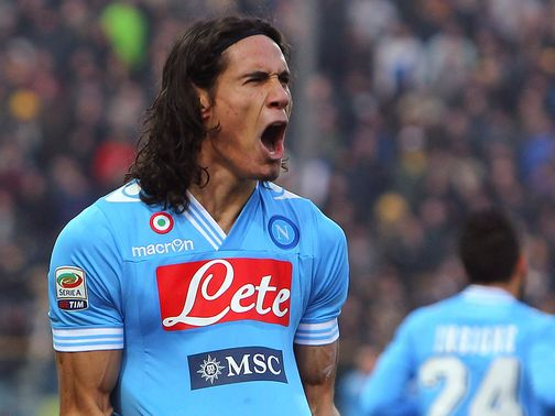 Edinson Cavani: Has a £60m price-tag on his head