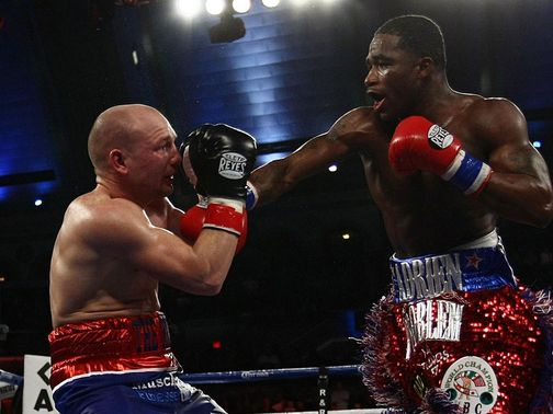 Gavin Rees was beaten by Adrien Broner in Atlantic City