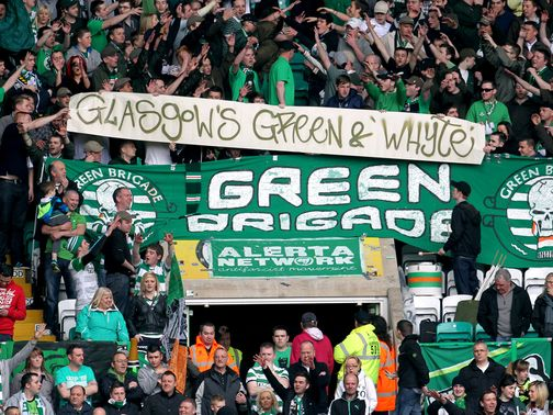 Green Brigade: Passionate supporters