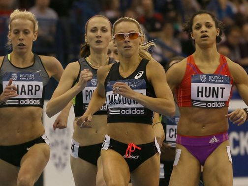 Meadows: Ran inside the qualifying standard in Birmingham