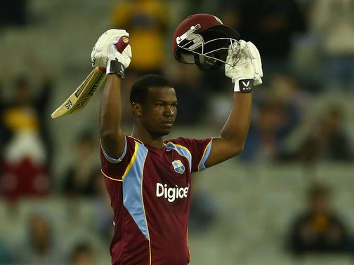 Johnson Charles: Hit 130 for West Indies