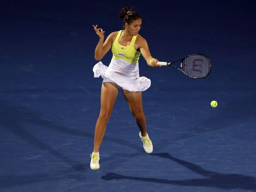 Robson: Defeated in Dubai in three sets