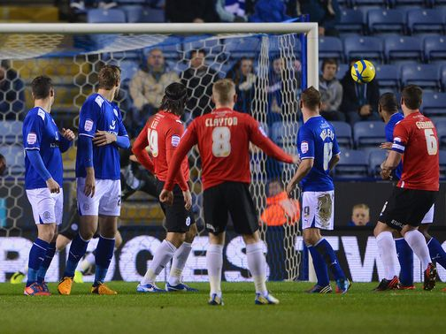 Adam Clayton finds the net for the Terriers