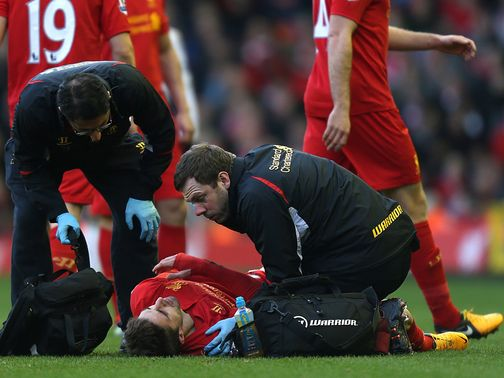 Fabio Borini: Looks set to miss the rest of the season